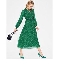 Ada Midi Dress Green Women Boden, Green