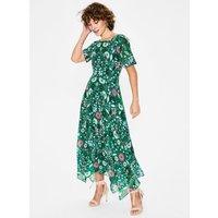 Katherine Midi Dress Green Women Boden, Green