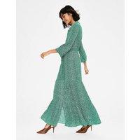 Viola Maxi Shirt Dress Green Women Boden, Green