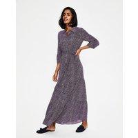 Viola Maxi Shirt Dress Navy Women Boden, Navy