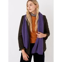 Cashmere Knitted Scarf Violet