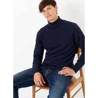 Cashmere Polo Neck French Navy