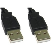 1.8m USB 2.0 A-Male to A-Male Data Cable sale image