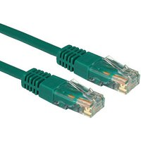 0.25M CAT5e Cable UTP Full Copper 26AWG Green