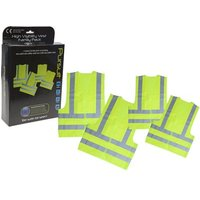Summit High Visibility Safety Vests - Family Pack 2018