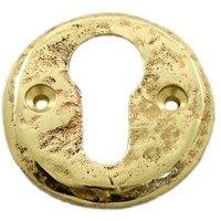 Kirkpatrick 1401 Brass Clovelly Escutcheon