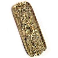 Brass Cherub Finger Plate