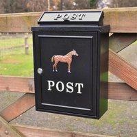 Horse Wall Mounted Post Box
