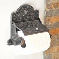 Sanitary Paper Co Toilet Roll Holder - Iron Finish