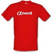 Alpha Nerd Male T-shirt.