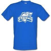 Game Of Thrones - Team Stark male t-shirt.