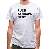 F**k Africa's debt classic fit.