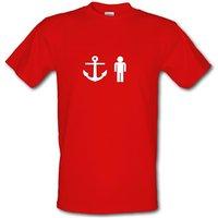 Anchorman Male T-shirt.