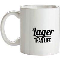 Lager than Life mug.