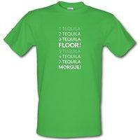 1 Tequila 2 Tequila 3 Tequila Floor. 5 Tequila 6 Tequila 7 Tequila Morgue. Male T-shirt.