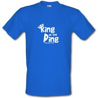 King of the Ding - Microwave Chef! male t-shirt.