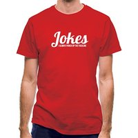 Jokes - I always punch up the F***line classic fit.