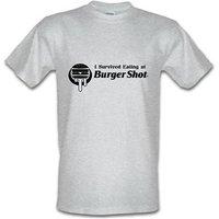 I survived eating at Burger Shot - GTA V male t-shirt.