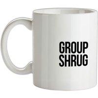 Group Shrug mug.