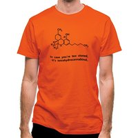In case you're too stoned it's tetrahydrocannabinol classic fit.