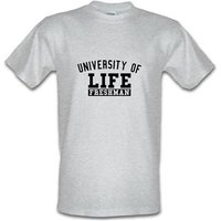 university of life male t-shirt.
