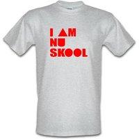 I am Nu Skool male t-shirt.