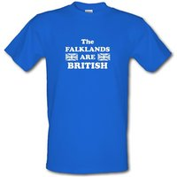 the falklands are british male t-shirt.