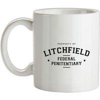 Property Of Litchfield Federal Penitentiary mug.