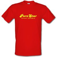 PornStar Stunt Double male t-shirt.