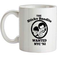 The Sticky Bandits mug.