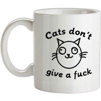 Cats Don't Give A Fuck mug.