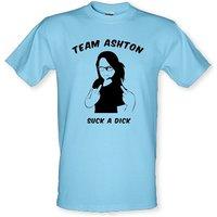 Team Ashton Suck a Dick male t-shirt.