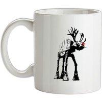Reindeer ATAT mug.