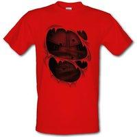 Wade Wilson Costume male t-shirt.