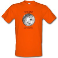 In Justice We Trust male t-shirt.