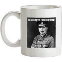 Somebody's Fucking with My Air Force mug.
