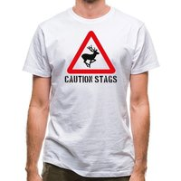 Caution Stags classic fit.