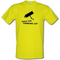 What You Looking At? male t-shirt.