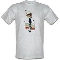 Bounty Hunter Hunters male t-shirt.