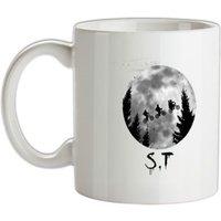 Stranger Things Moon mug.
