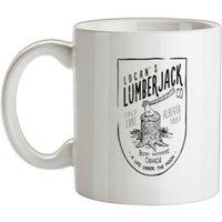 Logan Lumberjack mug.