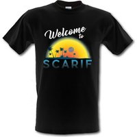 Welcome to Scarif male t-shirt.