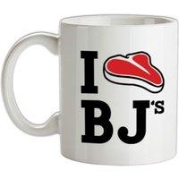 I Steak BJ's mug.