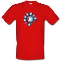 Arc Reactor Male T-shirt.