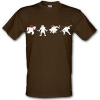 Ninja Tortoise male t-shirt.