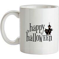 Happy Halloween mug.