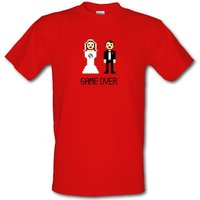 England Word Icons male t-shirt.