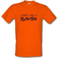 I Don't Give A SlytherShit male t-shirt.