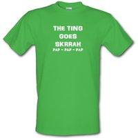 Big Shaq - The Ting Goes male t-shirt.