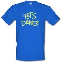 Let's Dance male t-shirt.